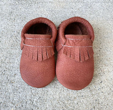 Autumn Rust Moccasins