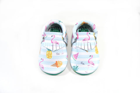 Tropical Paradise Moccasins