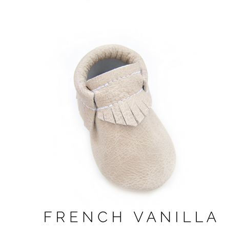 French Vanilla Moccasins