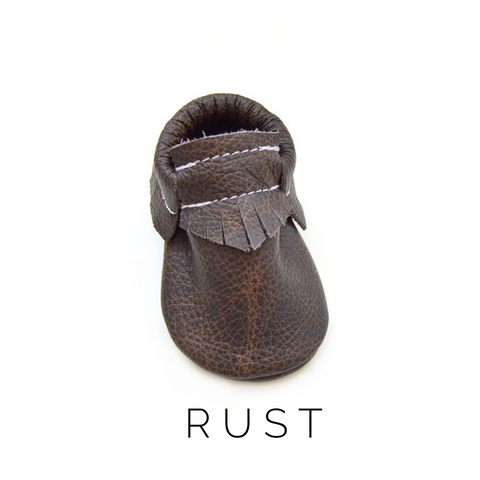 Rust Moccasins