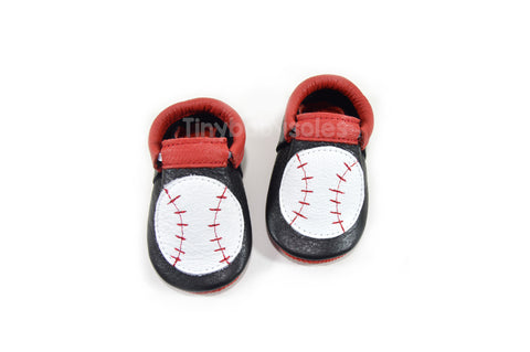 BASEBALL MOCCASINS (CUSTOMIZEABLE)