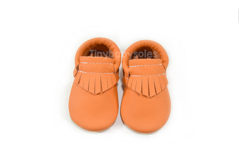Orange Flame Moccasins
