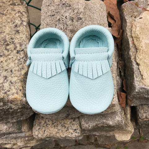 Cool Mint Moccasins
