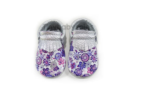 Hadley Floral  Moccasins