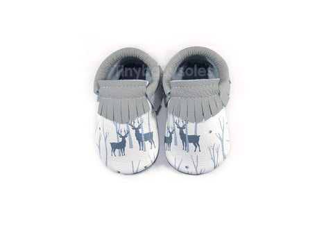 Winter Deer Moccasins