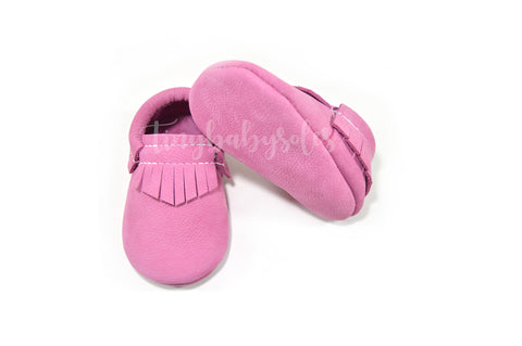 Dusty Rose Moccasins