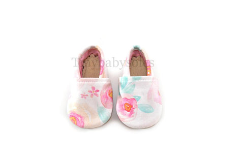 SUMMER PARADISE FLORAL ORGANIC BOOTIE