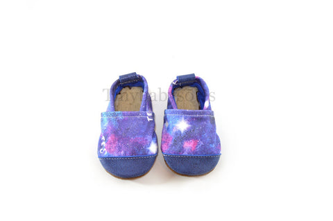 TBS Galaxy Organic Fabric x Leather Bootie