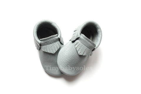 Light Gray Moccasins