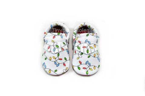 Christmas Lights Moccasins