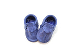 Midnight Blue Moccasins