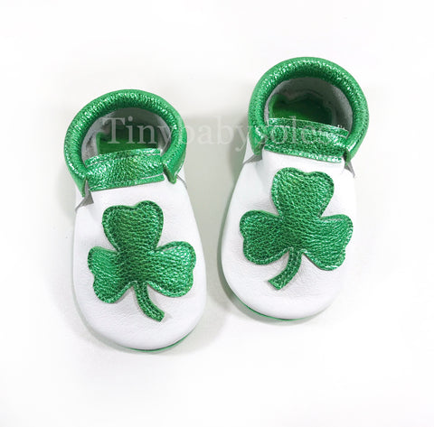 SHAMROCK MOCCASINS (CUSTOMIZABLE)