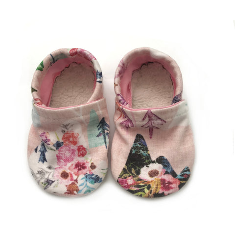 Floral Mountain Booties