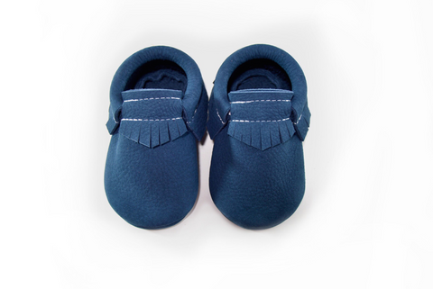 Royal Slate Moccasins