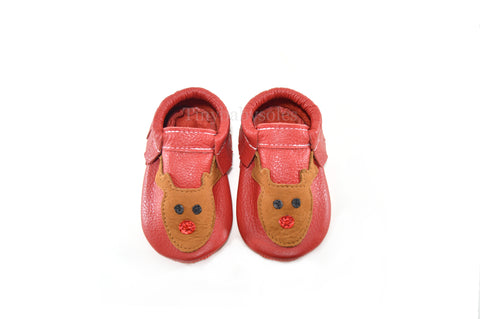 Red Rudolph Moccasins