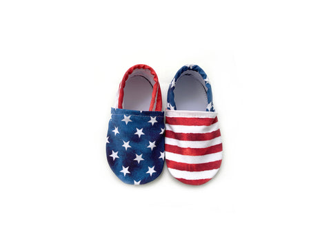 Stars and Stripes Swim Booties