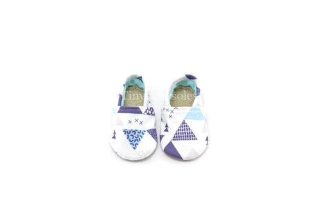 ADVENTURE BLUE TRIANGLE ORGANIC BOOTIE