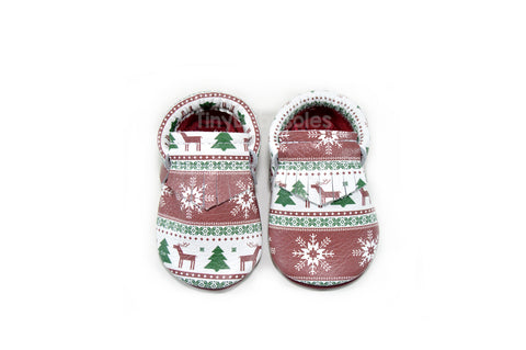Christmas Sweater Moccasins