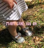 ADD ON- Mary Janes MOCCASIN UPGRADE
