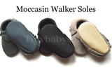White/Black Moccasins