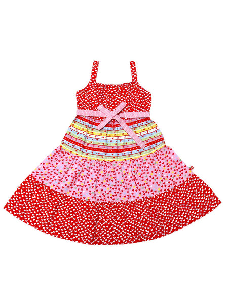 Vestido Holiday Candy Heart