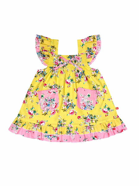 Vestido Holly Lemon Floral Dress - ULTIMAS UNIDADES 6M, 18M & 3A