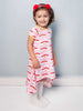 Mabel Pink Rainbow Dress