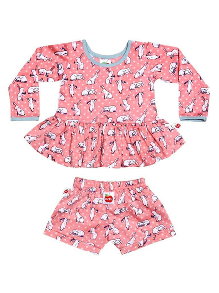 Vestido Mia Blush Bun Bun Dress Baby Set