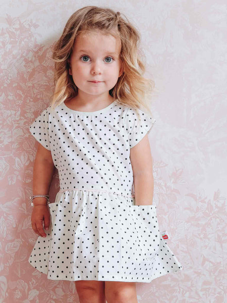 Vestido Asher Pastel Polkadot Dress