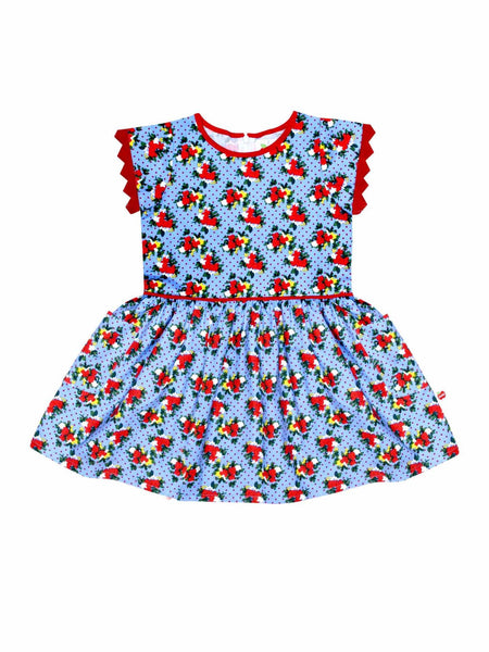 Vestido Angie Blue Kensington Floral Dress