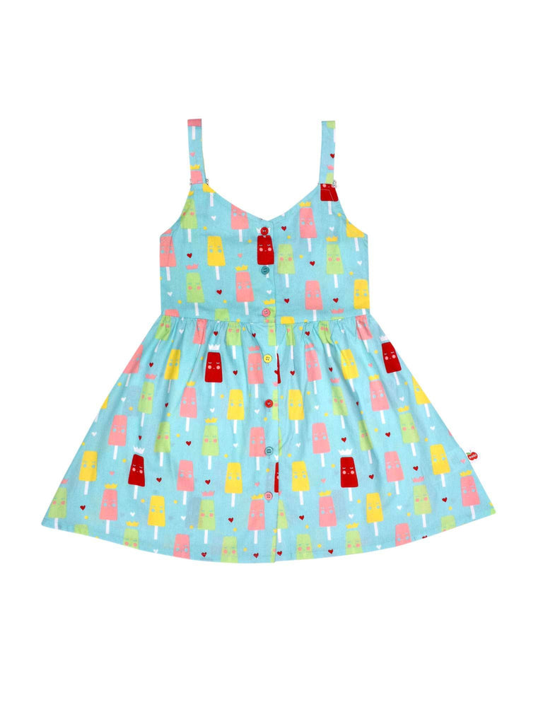 Vestido Ruby Ice Cream Blue -  ULTIMA UNIDADE 9A