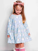 Vestido Mia Aqua Kitty Dress