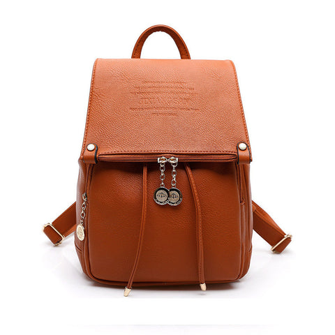 High Quality  Leather Backpack Cute Statement