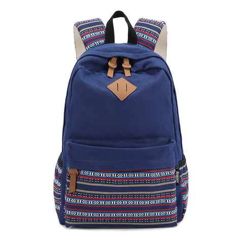 EcoCity Canvas Backpack