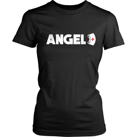 Angel Front with Hat Logo