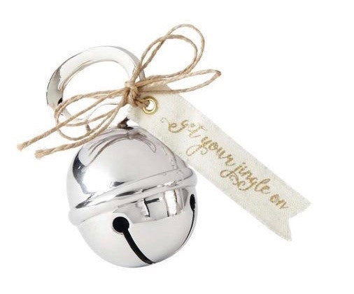Jingle Bell Bottle Opener - Silver