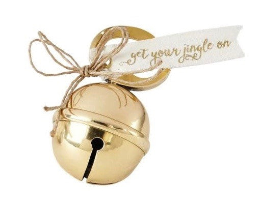 Jingle Bell Bottle Opener - Gold