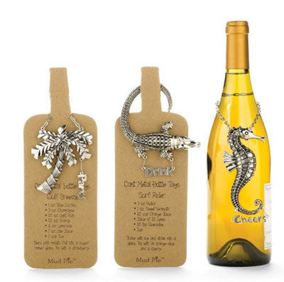 Bottle Tag - Seahorse