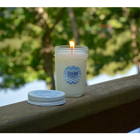 Maxi Candle - Sea Salt & Hibiscus Citronella