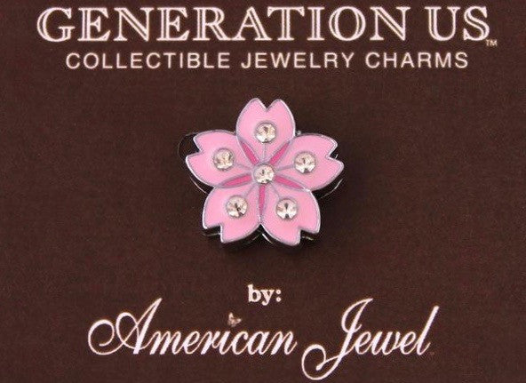 Jewel - Flower - Pink