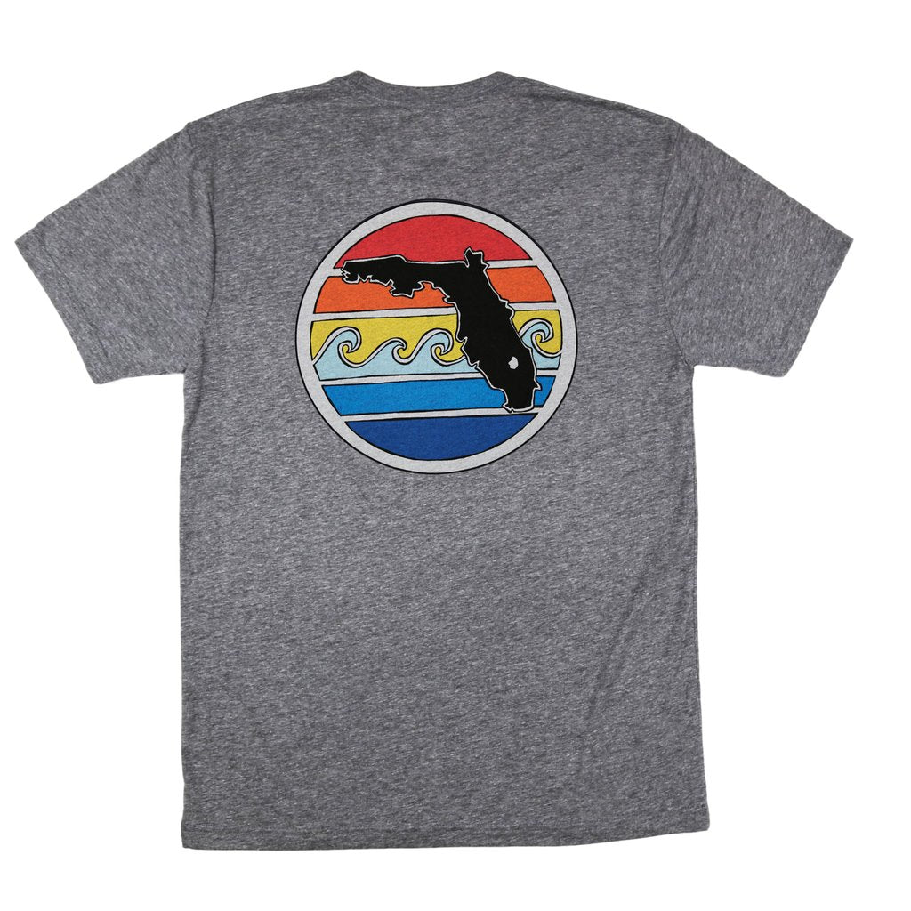 Florida Sunset Shirt - Grey