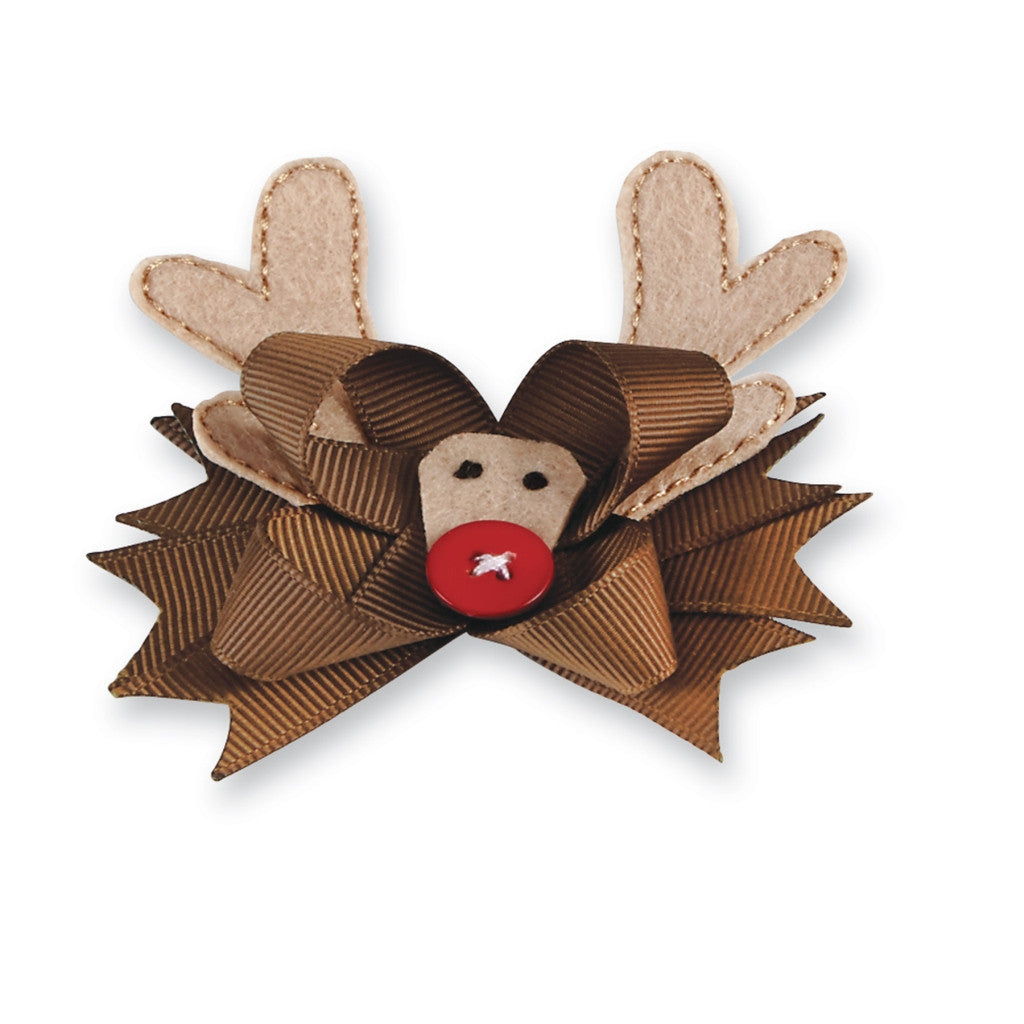 Holiday Bows - Reindeer