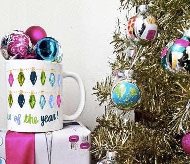 Mug - Colorful Holiday