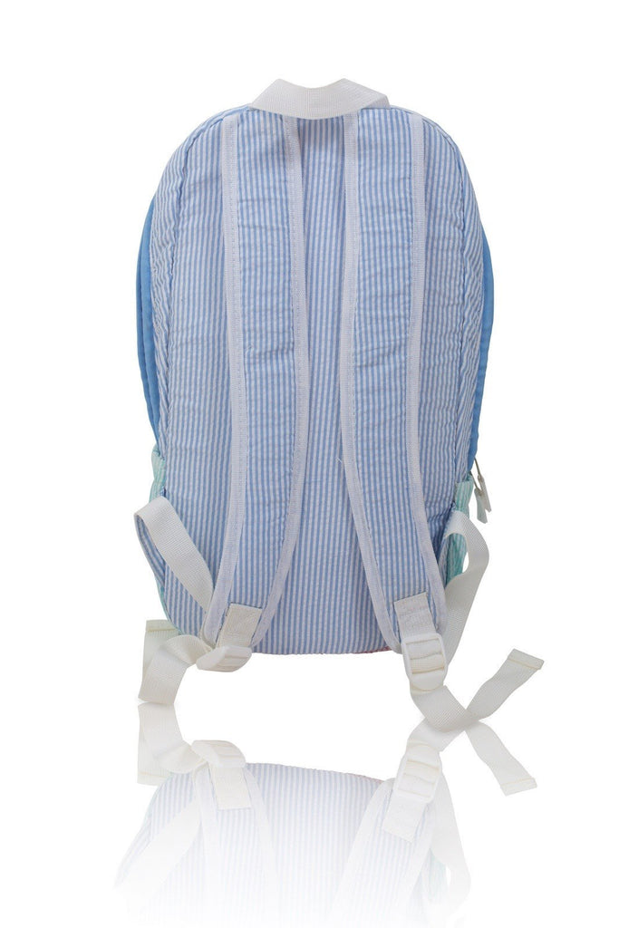 Backpack - Seersucker Backpack - Seaside Collection