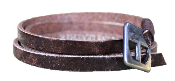 Bracelet - Leather Wrap Bracelet - Vintage Brown