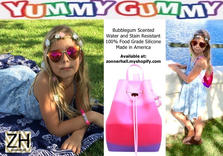 Bucket Bag - Yummy Gummy Bucket Bag - Bubble Gum