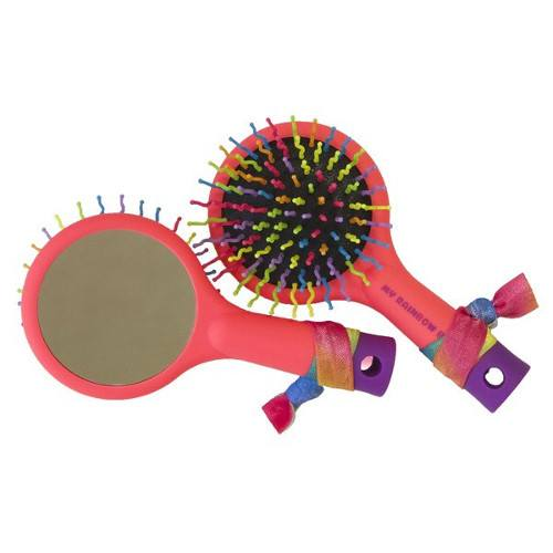 Hair Accessory - My Rainbow Brush - Coral