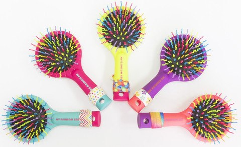 Hair Accessory - My Rainbow Brush - Yellow