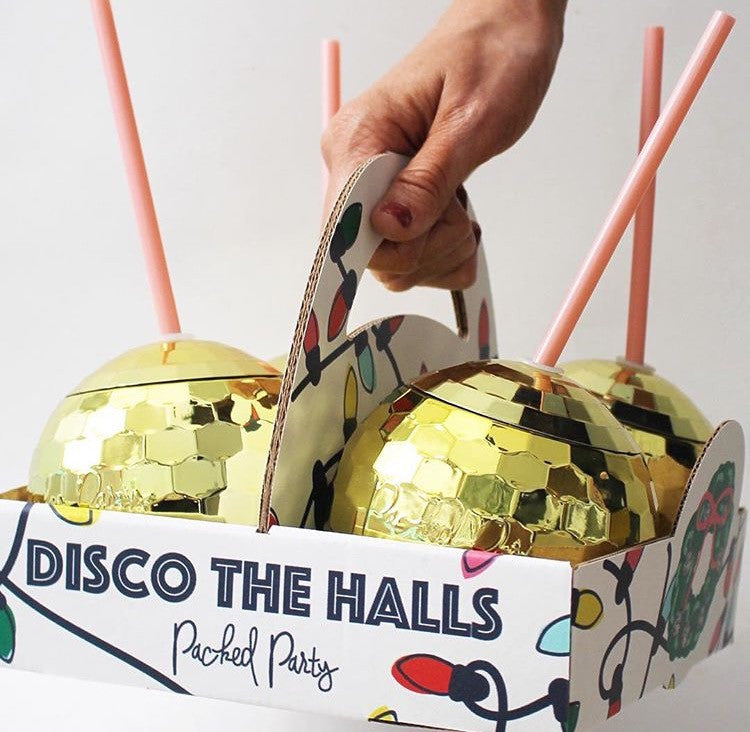The Original Packed Party Disco Drink - Gold