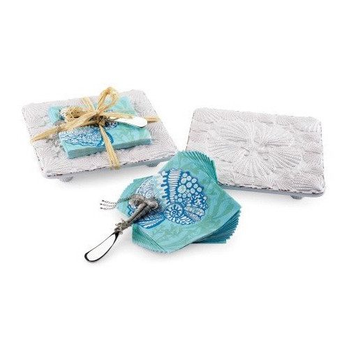 Napkin Set - Shell Trivet & Napkin Set